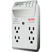 APC 4-Outlet 1020 Joule Surge Protector with LCD Timer