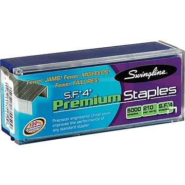 Swingline® SpeedPoint Premium Staples, 5/Pack