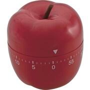 """Baumgartens Shaped Timer, Red, 4"""" (77042)"""
