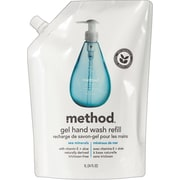 Method Products Refill for Gel Handwash, 34 oz. Plastic Pouch, Sea Minerals