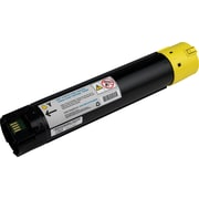 Dell T222N Yellow Toner Cartridge (F916R), High Yield