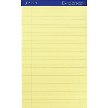 Ampad Evidence® Writing Pads, 8 1/2