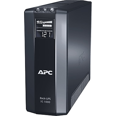APC Back-UPS® XS 1000VA 8-Outlet Power-Saving UPS