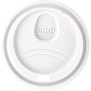 Dixie® Plastic Lids, 8 Oz., White, 1,000/Ct