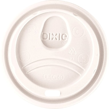 Dixie® Hot Cup Dome Sip Lids, 10 oz., 1,000/Case