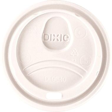 Dixie® Hot Cup Dome Sip Lids, 10 oz., 1,000/Case