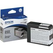 Epson® – Cartouche d'encre T580100 UltraChrome K3, noir photo