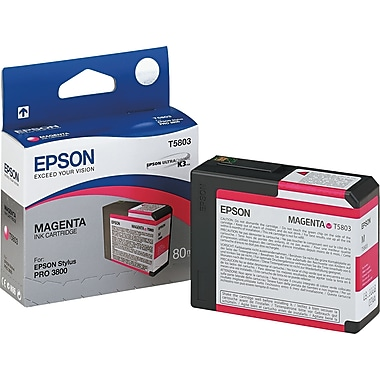 Epson T580 80ml Magenta Ink Cartridge (T580300)