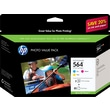 HP 564 Color Ink Cartridges (CG925AN) Photo Value 3/Pack