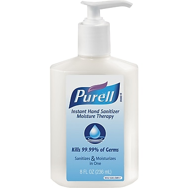 Purell® Hand Sanitizer Moisture Therapy, 8 oz.
