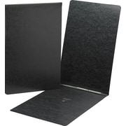 """Smead Top Opening Prong Fastener Pressboard Report Cover, Black, 11"""" x 17"""""""