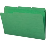 Smead File Folders Legal Size, Green