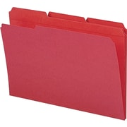 Smead Red File Folders, Legal Size