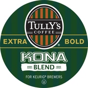 Keurig® K-Cup® Tully's® Kona Extra Bold Blend Coffee, Regular, 24 Pack