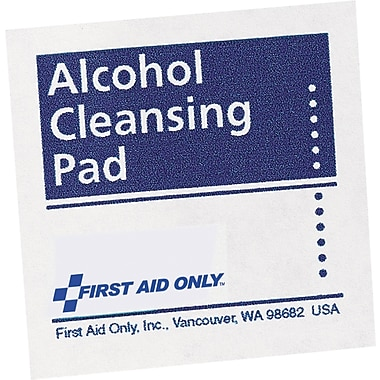 First Aid Only® H305 Alcohol cleansing pad, 70% Isopropyl Alcohol