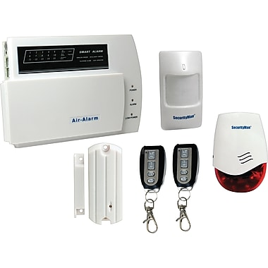 SecurityMan® Air-Alarm1 D.I.Y. Wireless Home Alarm System Kit