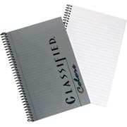 "TOPS® Classified™ Colors Business Wirebound Notebook, College Ruled, Graphite, 8 1/2"" x 5 1/2"""
