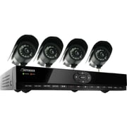 Defender SN301-8CH-002 Expandable 8 CH H.264 Smart DVR w/ Coaching iMenu, 4 Indoor/Outdoor Cameras