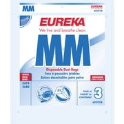 Eureka® Type MM Disposable Vacuum Bags, 3/Pack