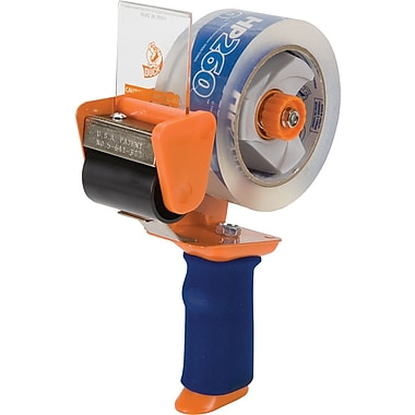 Duck HP260 Antimicrobial BladSafe Tape Gun with Premium Packaging Tape, 1.88in. x 60 Yards