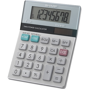 Sharp® EL-310TB 8 Digit Desktop Display Calculator