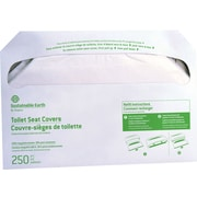 Sustainable Earth™ by Staples Toilet Seat Covers, 5000/Carton (SEB24779)