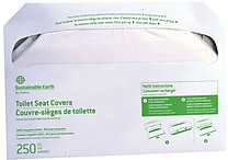 Sustainable Earth by Staples Toilet Seat Covers, 2500/carton (SEB24780)