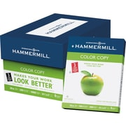 "Hammermill Color 3-Hole Punched Copy Paper, LETTER-Size, 100 Brightness, 28 lb., 8 1/2"" x 11"", 500/Ream"