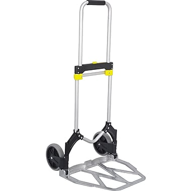 Safco® Stow-Away® Hand Truck, 38 1/4in.H X 19in.W X 173/4in.D
