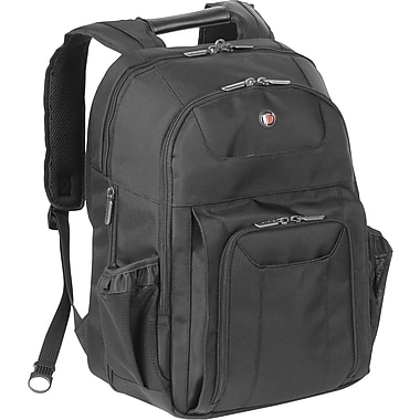 Targus® CUCT02B Corporate Traveler Backpack For 15.4in. Notebook, Black