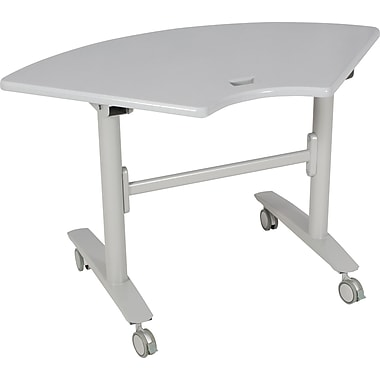 Balt Lumina Flipper Tables, 1/4 Round Table