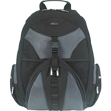 Targus® TSB007US Sport Backpack For 15.4in. Notebook, Black/Gray