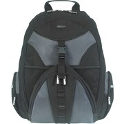 Targus® TSB007US Sport Backpack For 15.4 Notebook, Black/Gray