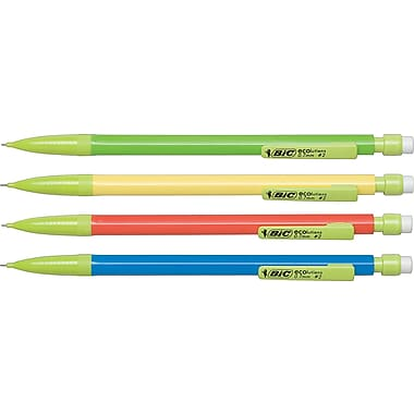 BIC® ECOlutions™ Mechanical Pencils, .7mm, Dozen