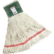 "Rubbermaid Web Foot® Mop, Cotton/Synthetic, Medium, White, 5"" Headband"
