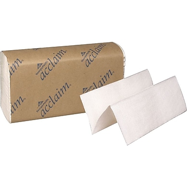 Acclaim® Multifold Paper Towels, White, 1-Ply, 4,000/Case