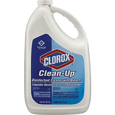 Clorox® Clean-Up® Disinfectant Cleaner with Bleach, Refill, 128 Oz., 4/Ct
