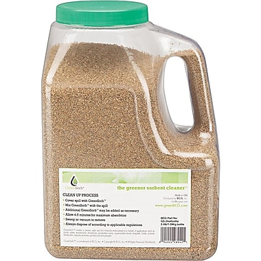 Greensorb™ Eco-Friendly Sorbent, Clay, 2.4 lb. Shaker Bottle