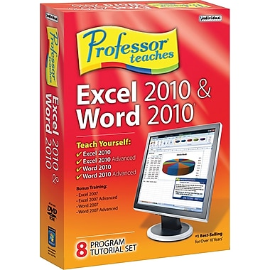 Professor Teaches Excel & Word 2010 [Boxed]