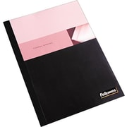 Fellowes Thermal Binding Presentation Covers, Letter, 1/8, 30 Sheets, 10 Pack, Black
