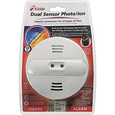Kidde Dual Sensor Smoke Alarm