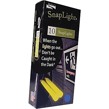 Mills Creek Snaplights, 6in.l x 3/4in.w, Blue, 10/Pack