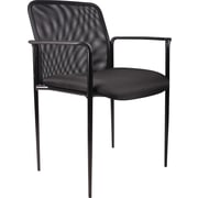 Boss Black Mesh Guest Chair