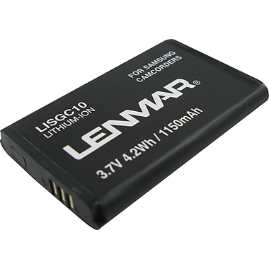 Lenmar Replacement Battery For Samsung SMX-C10 Camcorder Battery