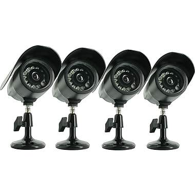 Defender Four Hi-Res Indoor/Outdoor Night Vision CCD Security Camera
