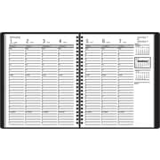 "2014 AT-A-GLANCE® Recycled Weekly Appointment Book, 6 7/8"" x 8 3/4"""