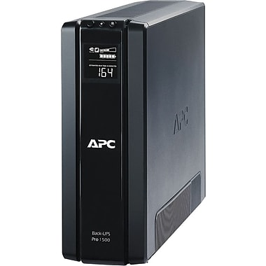 APC Back-UPS® 120 VAC 10-Outlet Power-Saving UPS (BR1500G)