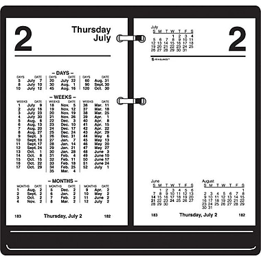 "2014 AT-A-GLANCE® Financial Desk Calendar Refill, 3 1/2"" x 6"""