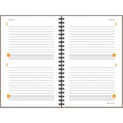AT-A-GLANCE® Two Days Per Page Planning Notebook, Gray, 6 X 9
