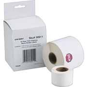 DYMO® 30911 LabelWriter Visitor Management Time-Expiring Name Badges, 2 1/4-Inch x 4-Inch, Roll Of 250
